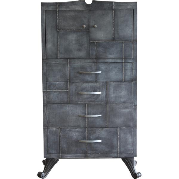 Gray Stone Chest Of Drawers-1_0