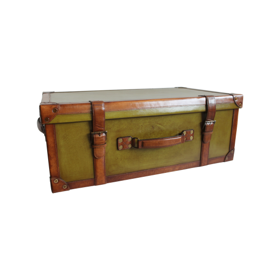 Orient express Trunk, Green,large