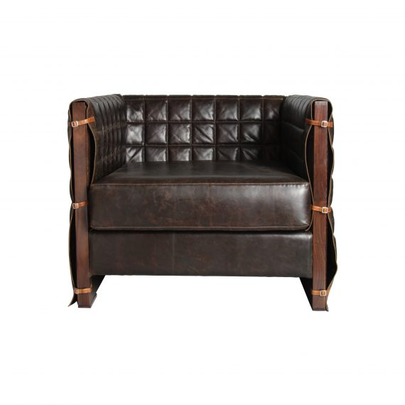 Retro Blanket sofa (single seater)