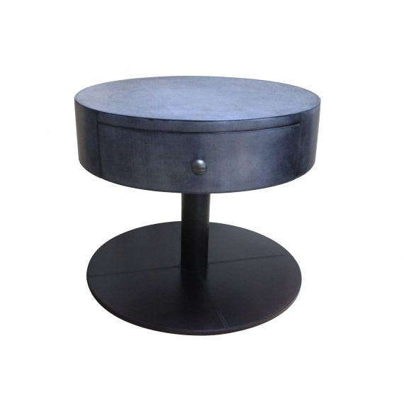 Round pie Side table