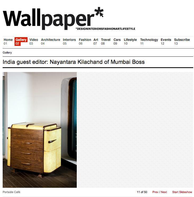 Wallpaper Magazine Online PortsideCafe