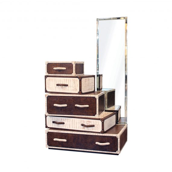 Shanaia's Rack , Dressing table cum chest of drawer
