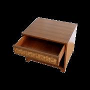 Veneer Weave Bed Side Tables