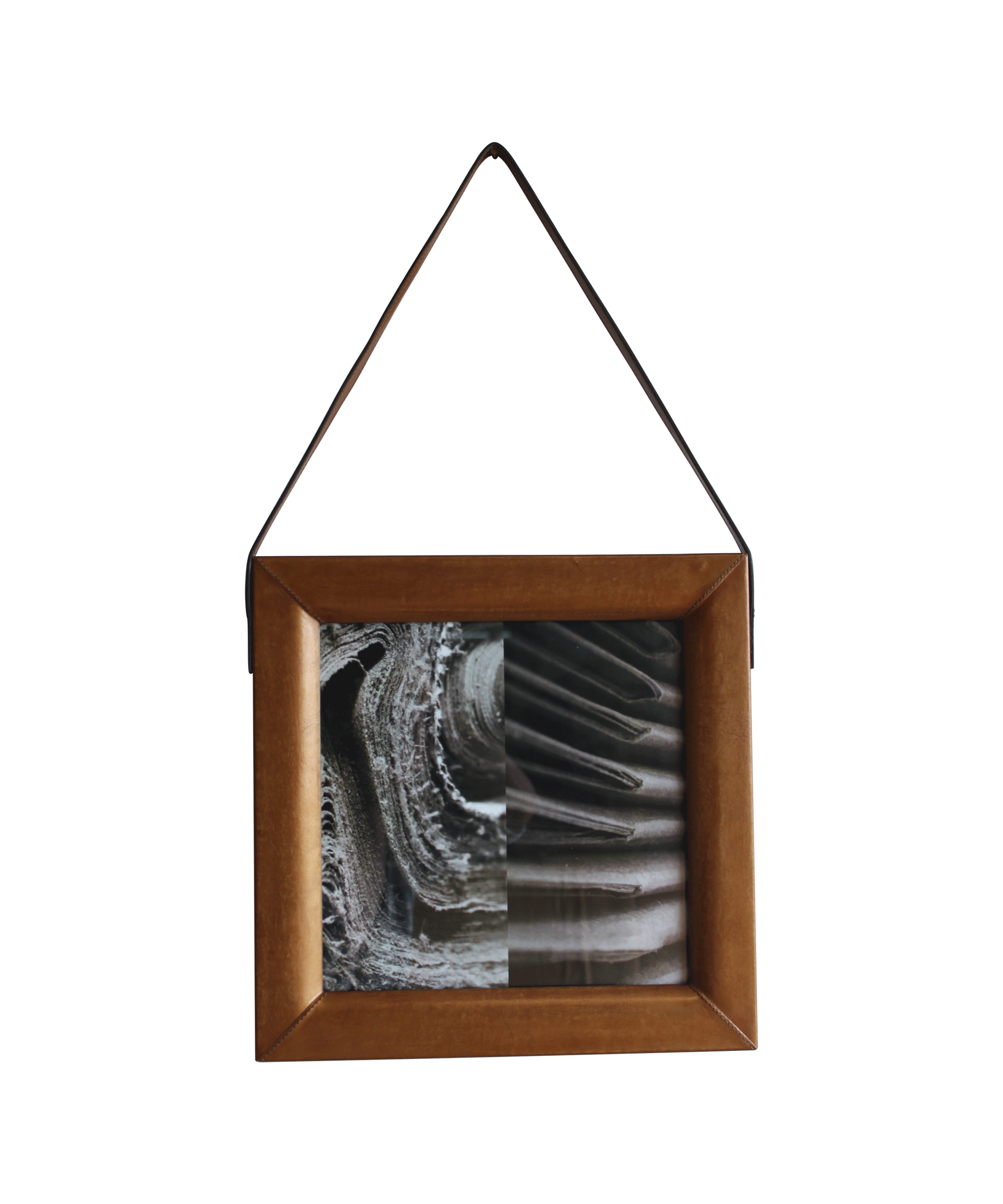 Wall picture frame square portsidecaf for Picture frame organization wall