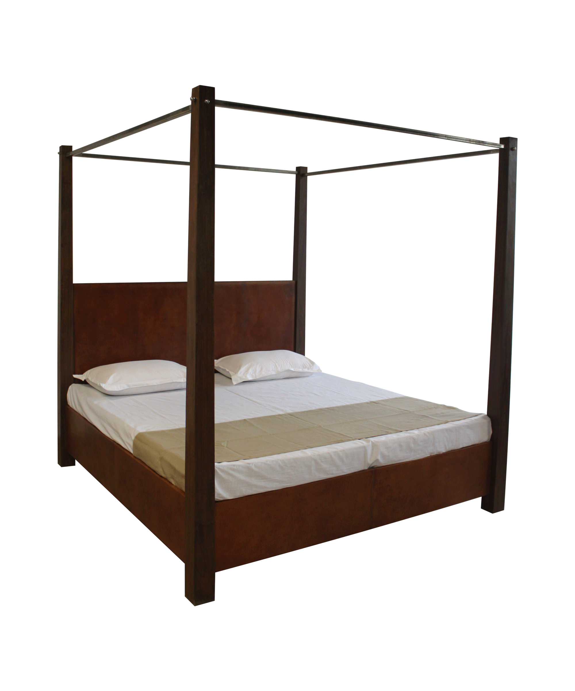 4 poster double bed portsidecaf