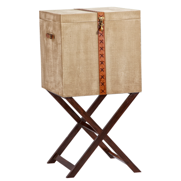 Canvas Box Medium With Stand