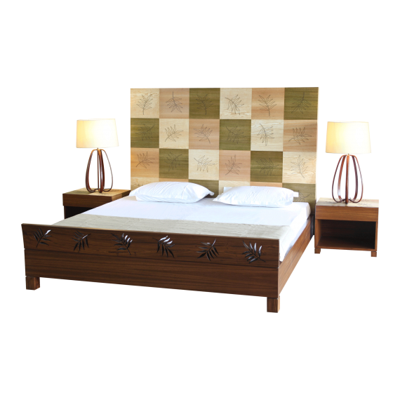 Flying Leaves Double Bed