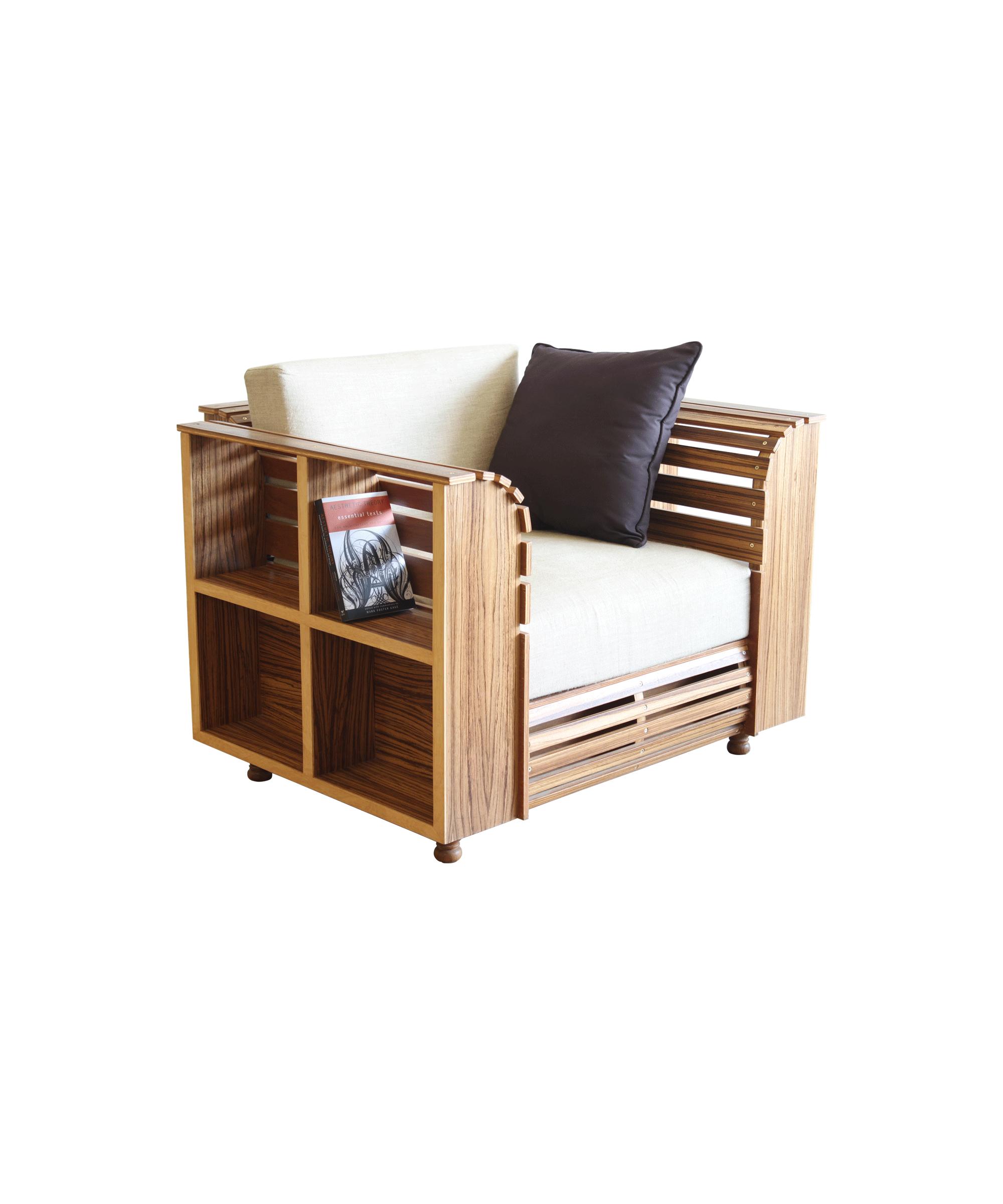 Attractive Library Sofa Single Seater 1