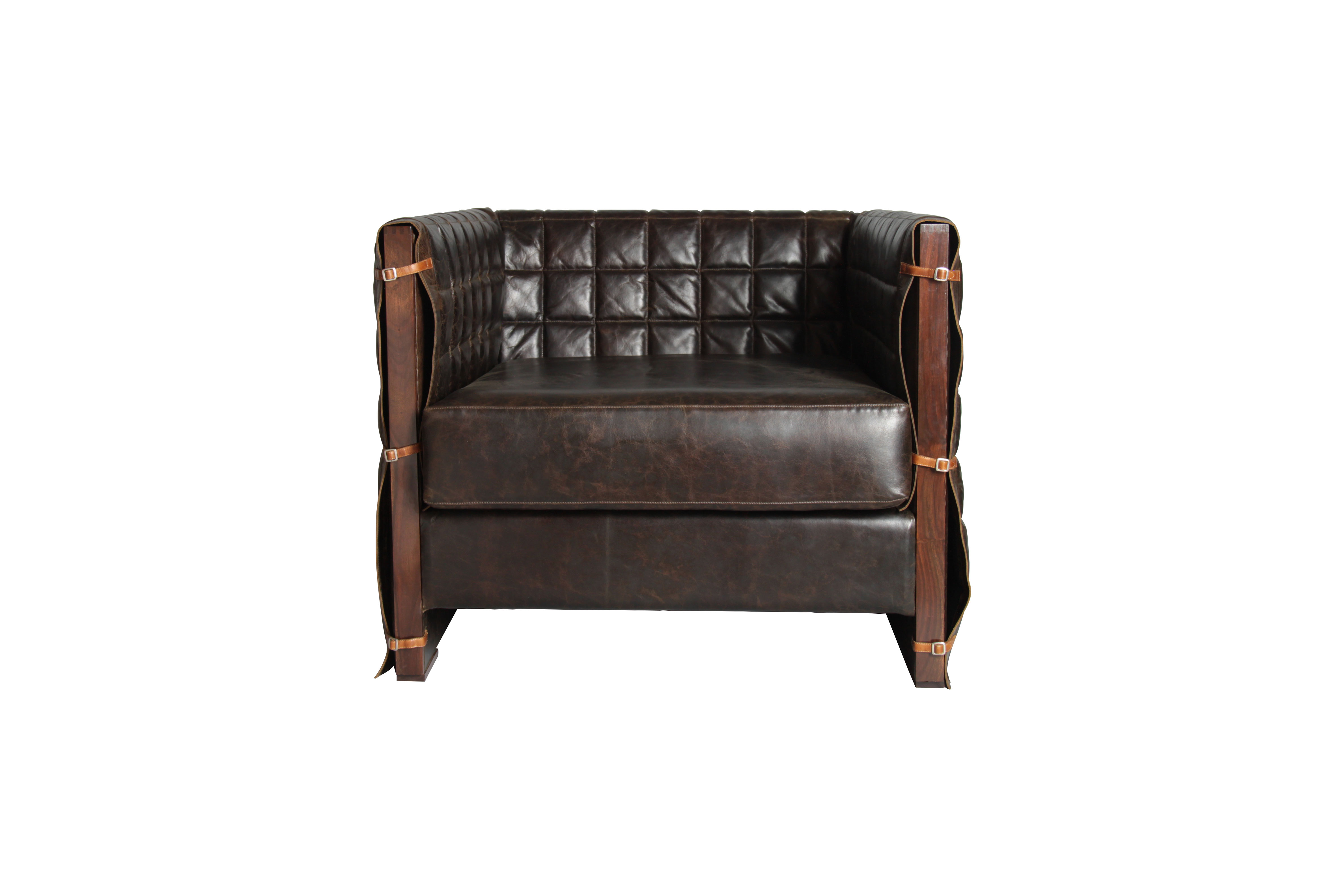 Retro Blanket Sofa Single Seater