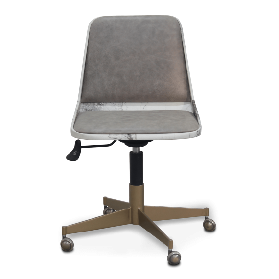 Cement Chair With Wheels