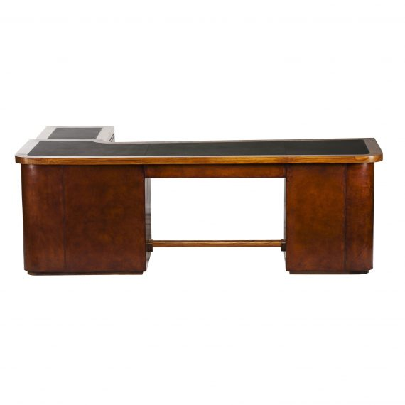 The Boss desk with credenza